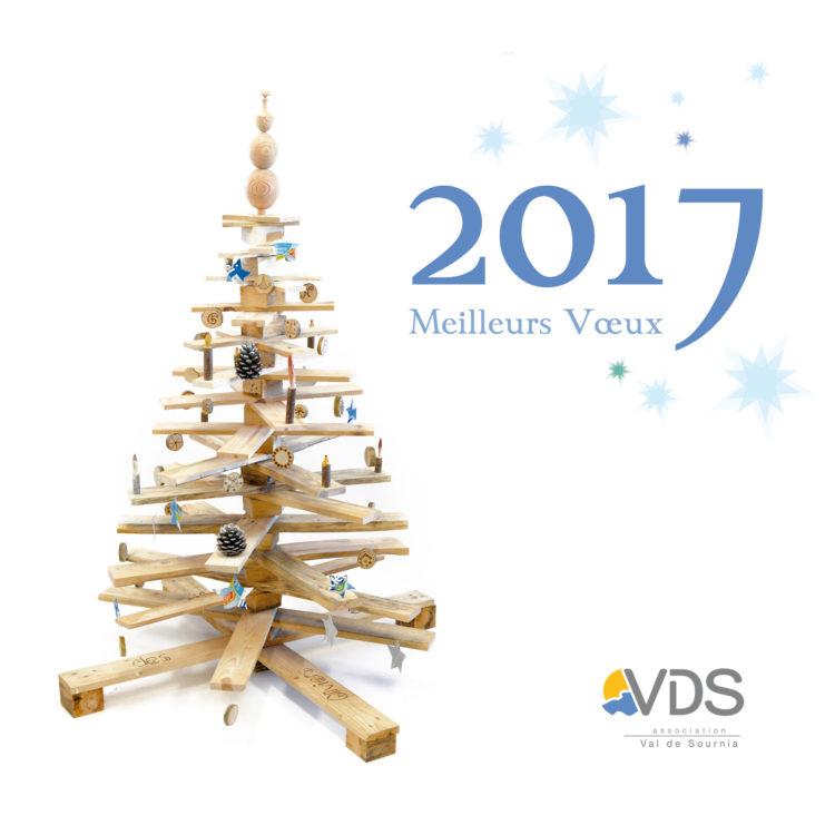 Carte vœux 2017